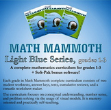 Math Mammoth Light Blue Series (grades 1-3)