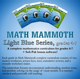 Math Mammoth Light Blue Series (grades 4-7)