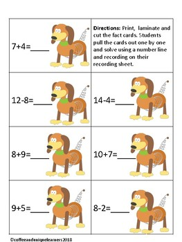 Math Mania Basic Addition and Subtraction: Dog Number Line