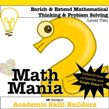Math Mania - Extend & Enrich Critical Thinking & Problem S