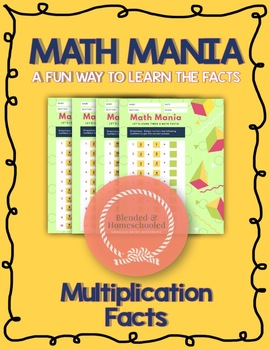 Math Mania: Multiplication Math Facts