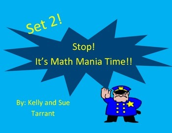 Math Mania Set 2! Math Challenge and Logic Problems