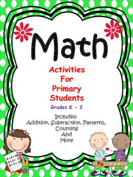 Math - Activities For Primary Students