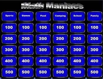 Math Maniacs