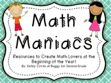 Math Maniacs...Resources to Create Math Lovers at the Begi