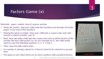 Math Manipulative Activities Grades 3-6
