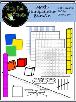 Math Manipulative Clip Art - Math Clipart - 700+ Graphics