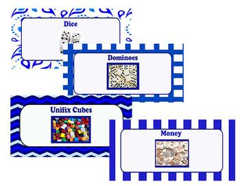 Math Manipulative Clipart