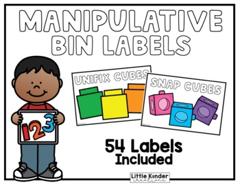 Math Manipulative Labels