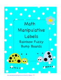 Math Manipulative Labels for Tubs