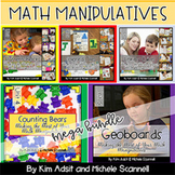 Math Manipulatives Mega Bundle by Kim Adsit and Michele Scannell