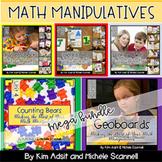 Math Manipulatives Mega Bundle by Kim Adsit and Michele Scannell