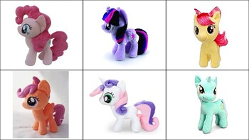 Math Manipulative (My Little Pony Inspired)