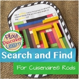 PDL's Search and Find for  Cuisenaire® Rods