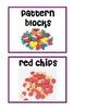 Math Manipulative Signs
