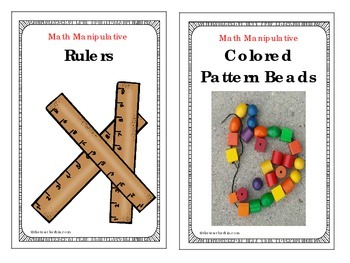 Math Manipulative Task Cards for Workshop