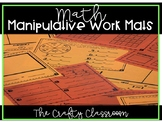 Math Manipulative Work Mats