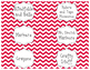 Math Manipulative and Classroom Supply Labels
