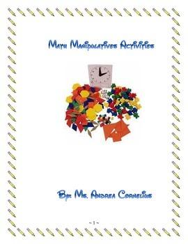 Math Manipulatives Activities
