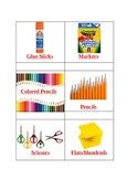 Math Manipulatives Bin Labels