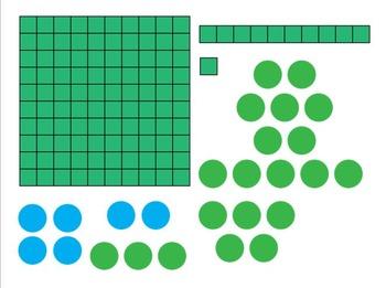 Math Manipulatives Clip Art
