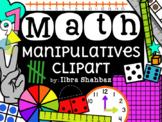 Math Manipulatives Clipart {GROWING BUNDLE}