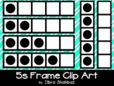 5s Frame Clipart {FREEBIE}