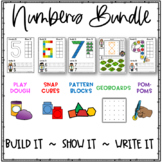 Math Manipulatives Hands-On Activities Bundle - Numbers