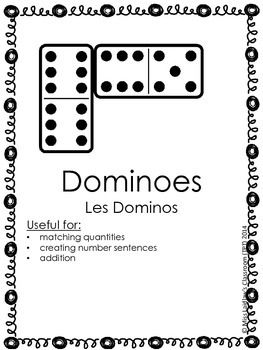 Math Manipulatives Identification & Use Posters {English w/ French Translation}