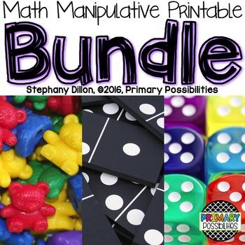 Math Manipulatives Printable Bundle