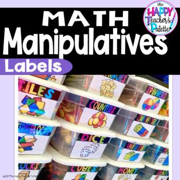 Math Manipulatives (Supply) Labels