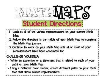 Math Maps:  Counting to 100 (MAFS)