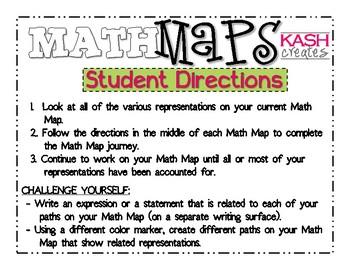 Math Maps:  Race from 100 (MAFS)
