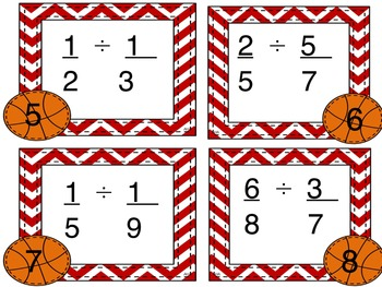 Multiplying and Dividing Fractions Pack