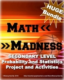 Math March Madness Full Tournament Project {BUNDLE}