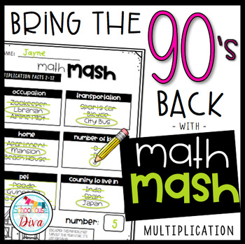 Math Mash - Multiplication
