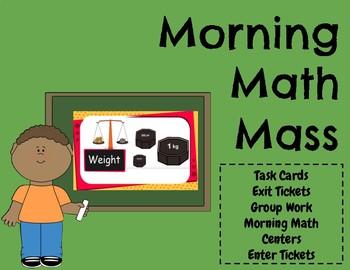 Math- Mass