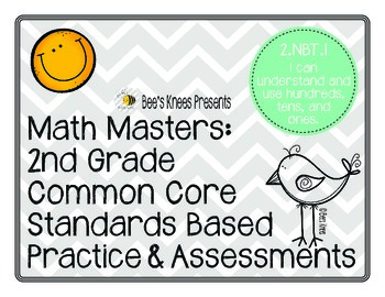 Math Masters: 2nd Grade Common Core Printables 2.NBT.1: Place Value