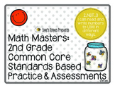 Math Masters: 2nd Grade Common Core Printables 2.NBT.3: Read & Write to 1,000
