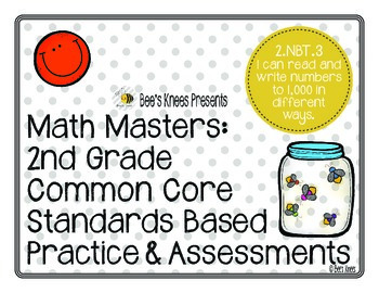 Math Masters: 2nd Grade Common Core Printables 2.NBT.3: Re