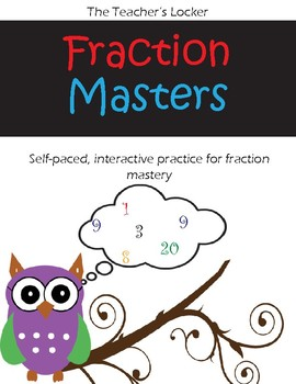 Fraction Masters-Complete, Self-Paced Fraction Program for 4th-6th Graders