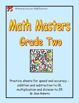 Math Masters Grade Two