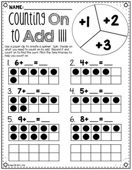 Math Masters:  Mastering Counting On to Add