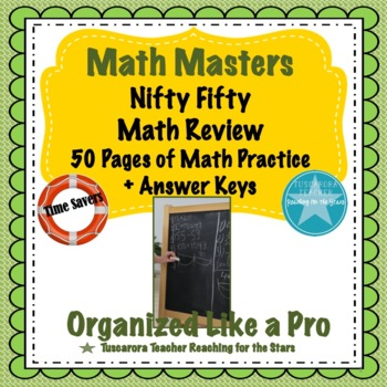 Math Masters Nifty Fifty Math Review