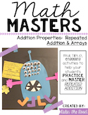 Math Masters:  Repeated Addition & Arrays with a Monster C