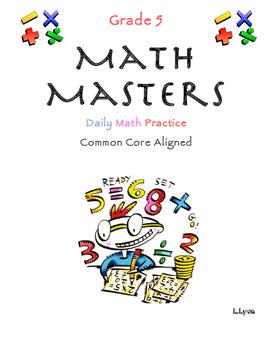 Math Masters Week 5