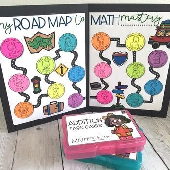 Math Mastery Task Cards - 3rd Grade