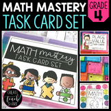 Math Mastery Task Cards - 4th Grade