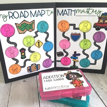 Math Mastery Task Cards - 5th Grade