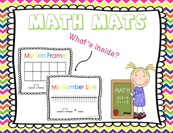 Math Mat **Includes Colored and Black and White Version**